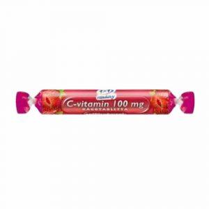 1X1 C-Vitamin Szőlőcukor Epres Rágótabletta 17 db