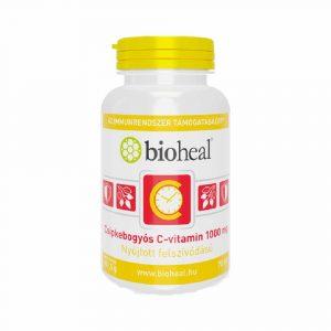 Bioheal 1000 mg C-Vitamin+Csipkebogyó Tabletta 70 db