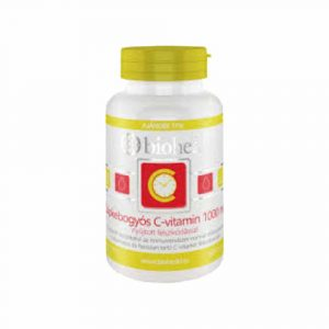 Bioheal C-Vitamin Csipkebogyós 120 db