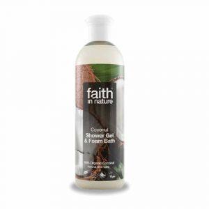 Faith In Nature Tusfürdő Kókusz 400 ml