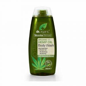 Dr.Organic Bio Kendermag Tusfürdő 250 ml