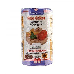Benlian Food Puffasztott rizs Lenmag-napraforgó 100 g