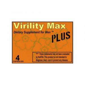Virility Max Kapszula 4 db