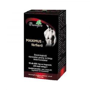 Pharmaforte Maximus Férfierő Kapszula 90 db