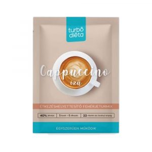 Turbó Diéta Fehérje Turmixpor Cappuccino 35 g