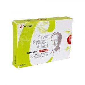 Goodwill Szent Györgyi C-Vitamin 1000 mg 20 db
