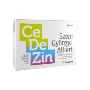 Goodwill Szent Györgyi Immunkomplex CeDeZin 60 db