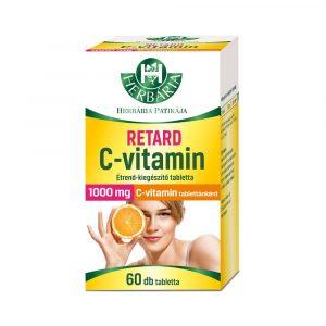 Herbária Retard C-vitamin 1000 mg