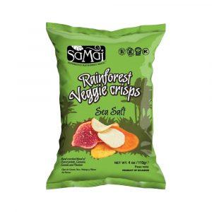 Samai Rainforest zöldség chips Tengeri Sós 115 g