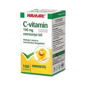 Walmark C-Vitamin 100 mg Cseresznyés 100 db