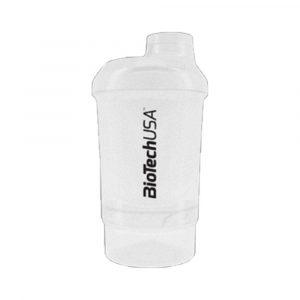 Biotech Keverőpalack Wave Átlátszó 600 ml