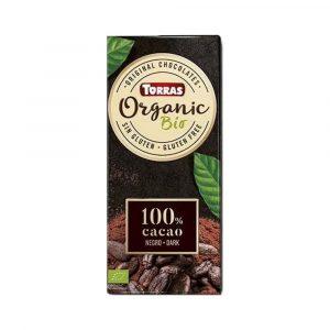 Torras Bio Étcsokoládé 100% Kakaótartalmú 100 g