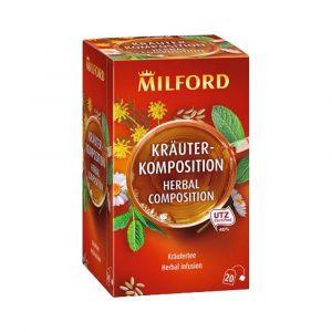 Milford Gyógynövénytea Teakeverék 20 Filter